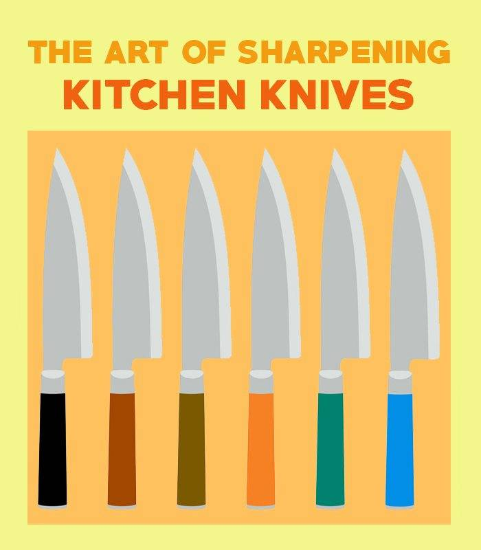 sharpening kitchen knives guide