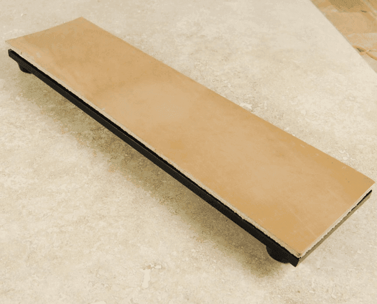 A leather strop.