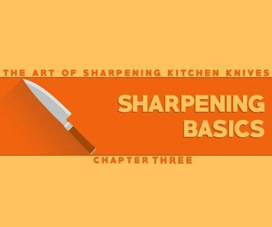 basic kitchen knives the basic concepts of sharpening a kitchen knife blade 10263