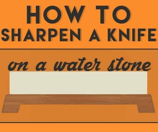How To Sharpen A Knife On A Japanese Water Stone