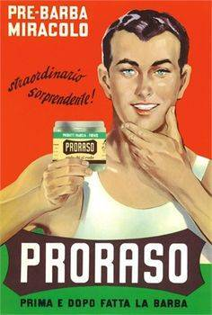 Proraso, a very famous italian after shave cream