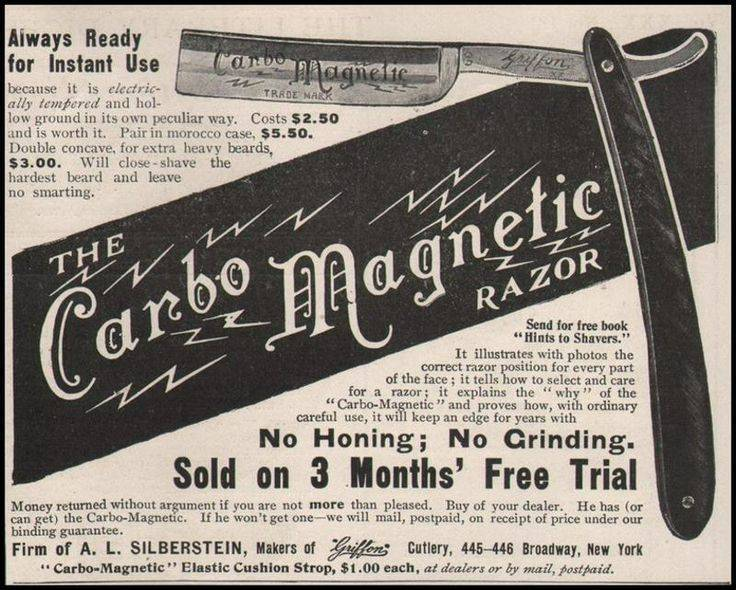 An old advertisement.
