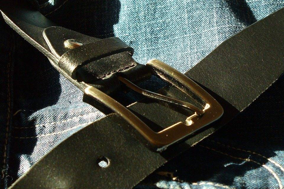 You can polish edges on a leather belt.