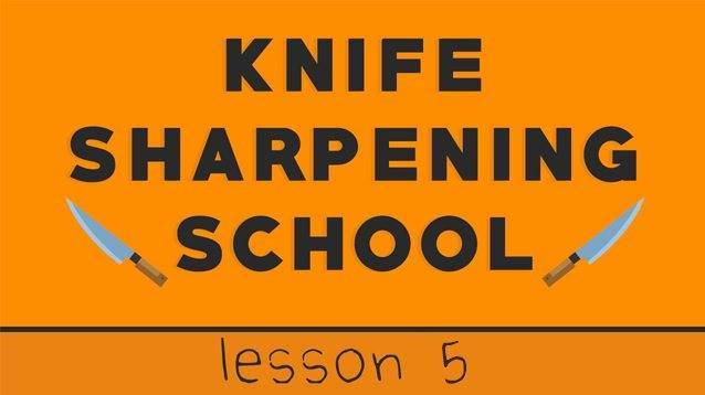 lesson 5 sharpening school